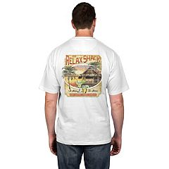 Big & Tall Newport Blue Safari Graphic Tee