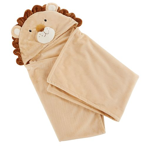 Baby Aspen Animal Hooded Blanket