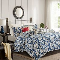 Madison Park Georgia 6-piece Coverlet Set