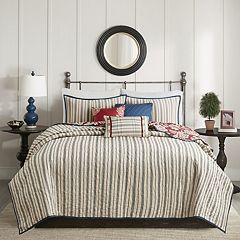 Madison Park Georgia 6 pc Coverlet Set