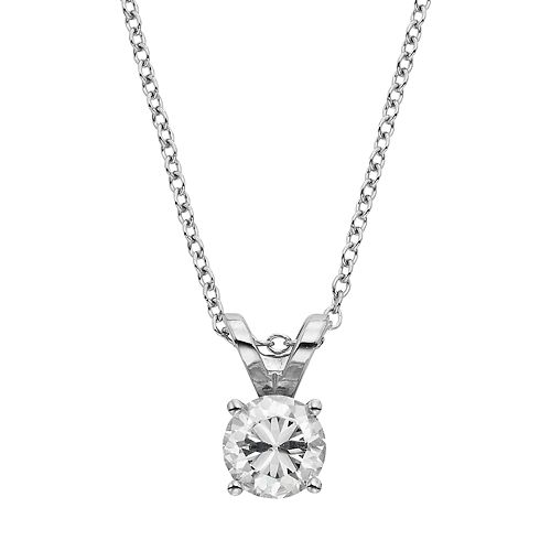 Evergreen Diamonds 1/2 Carat T.W. IGL Certified Lab-Created Diamond Solitaire Pendant