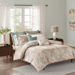 Madison Park Robin Cotton Sateen Duvet Cover Set