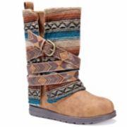 MUK LUKS  Nikki Women's Water Resistant Winter Boots