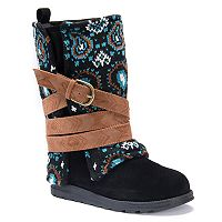 MUK LUKS Nikki Women's Water Resistant Winter Boots