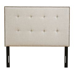 Madison Park Comstock Upholstered Queen Headboard