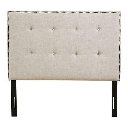 Madison Park Comstock Upholstered Queen Headboard