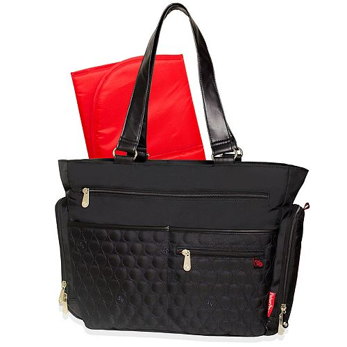 Fisher-Price Circle Quilted Diaper Tote