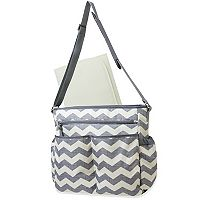 Baby Essentials Chevron Striped Diaper Bag