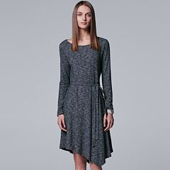 Women's Simply Vera Vera Wang Asymmetrical Shift Dress