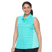Plus Size FILA SPORT® Sleeveless Polo Top
