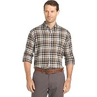 Men's Arrow Saranac Regular-Fit Plaid Flannel Button-Down Shirt