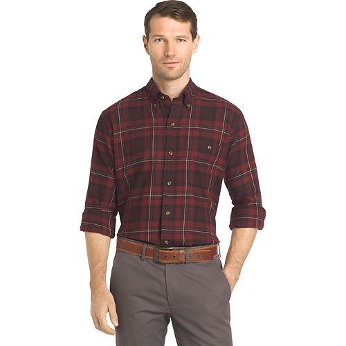 f18108cc6d Men s Arrow Saranac Regular-Fit Plaid Flannel Button-Down Shirt