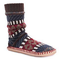 Men's MUK LUKS Boot Slippers