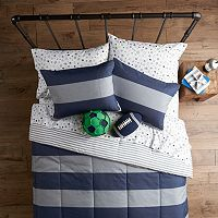 SONOMA Goods for Life™ Kids All Star Rugby Stripe Bedding Set