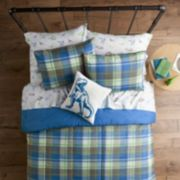 SONOMA Goods for Life? Kids Dino Plaid Bedding Set