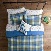 SONOMA Goods for Life™ Kids Dino Plaid Bedding Set