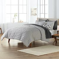 SONOMA Goods for Life™ Cadwell Woven Stripe Duvet Cover Set