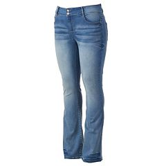 Juniors' Plus Size Mudd® FLX Stretch Bootcut Jeans