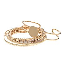 Mudd® Bangle, Cuff & Stretch Bracelet Set