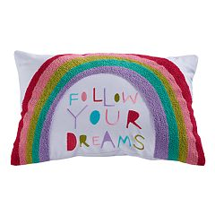 SONOMA Goods for Life™ Kids Rainbow 'Follow Your Dreams' Throw Pillow