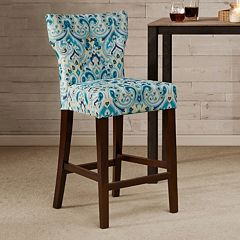 Madison Park Hayes Tufted Counter Stool