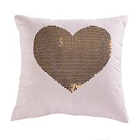 SONOMA Goods for Life™ Kids Heart Sequin Throw Pillow