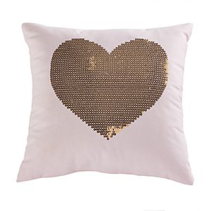 SONOMA Goods for Life® Kids Heart Sequin Throw Pillow