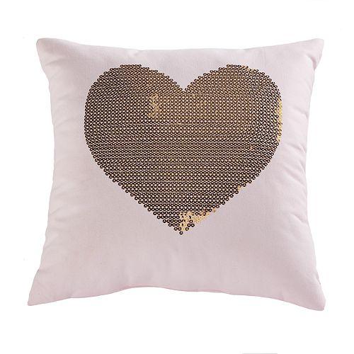 SONOMA Goods for Life™ Kids Heart Sequin Throw Pillow