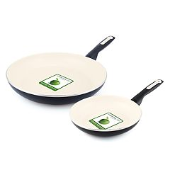 GreenPan Rio 2-pc. Ceramic Nonstick Frypan Set