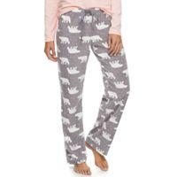 Women's SONOMA Goods for Life™ Pajamas: Microfleece Pants
