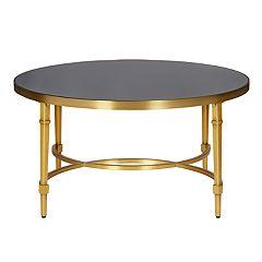 Madison Park Mario Round Coffee Table