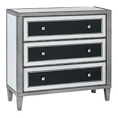 Madison Park Tulsa Mirrored 3-Drawer Dresser
