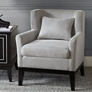 Madison Park Signature Peabody Accent Chair & Pillow 2 pc Set
