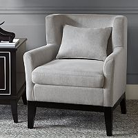 Madison Park Signature Peabody Accent Chair & Pillow 2-piece Set