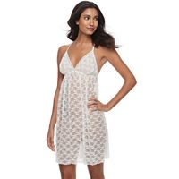 Women's Apt. 9® Pleated Lace Chemise