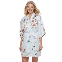 Women's Apt. 9® Lace Accent Wrap Robe