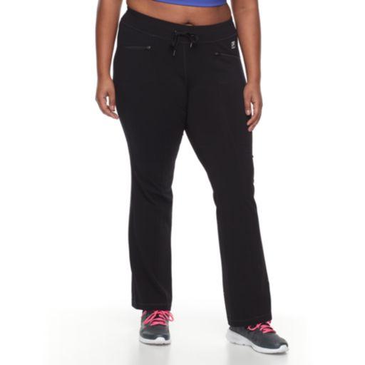 Plus Size FILA SPORT Zip Pocket Pant
