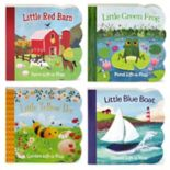 Board Book 4-Piece Lift-A-Flap Set by Cottage Door Press