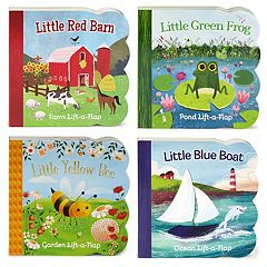 Board Book 4 pc Lift-A-Flap Set by Cottage Door Press