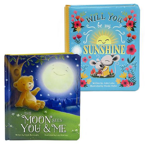 Love You Always 2-Piece Padded Board Book Set by Cottage Door Press