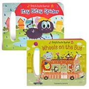 Sing and Smile 2 pc Board Book Set by Cottage Door Press