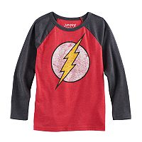 Boys 4-10 Jumping Beans® DC Comics The Flash Raglan Graphic Tee