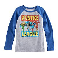 Boys 4-10 Jumping Beans® DC Comics The Justice League Batman, Superman, The Flash & Aquaman Graphic Tee