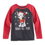 "Boys 4-10 Jumping Beans® Paw Patrol Marshall ""Brave All Year"" Raglan"