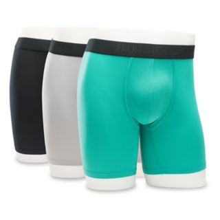 Big & Tall Fruit of the Loom Signature 3-pack Micromesh Breathable Boxer Briefs