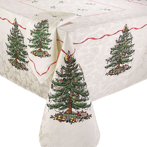 Spode Christmas Tree Tablecloth