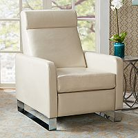 Madison Park Alvan Push Back Recliner Chair