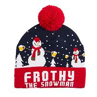 Wembley Holiday Musical Pom Beanie