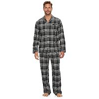 Men's Residence Flannel Pajama Set