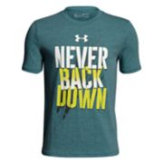 Boys 8-20 Under Armour Never Back Down Tee